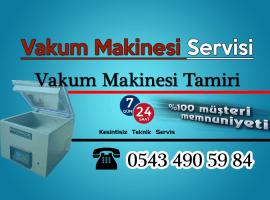 İstanbul Vakum Makinesi Servisi